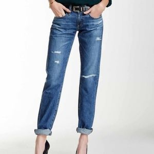 AG The Tomboy Distressed Jeans
